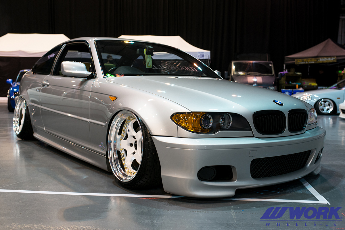 Work Wheels Uk Blog Bmw E46 On Work Wheels Meister S1