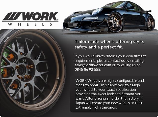 WORK wheels by Driftworks